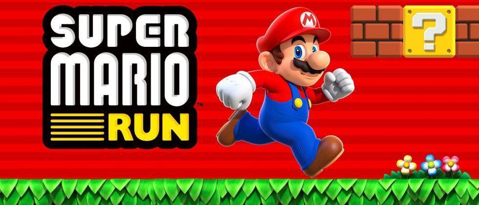 Super Mario Run hops its way onto iPhone and iPad