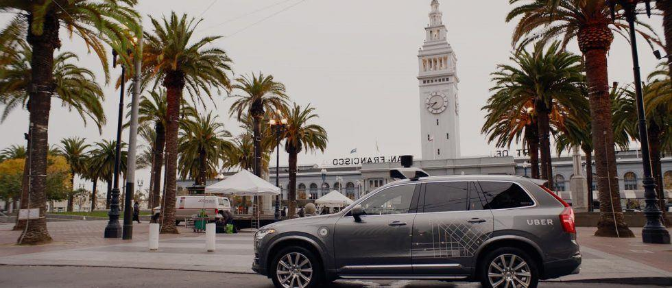 Uber's self-driving cars roll into San Francisco