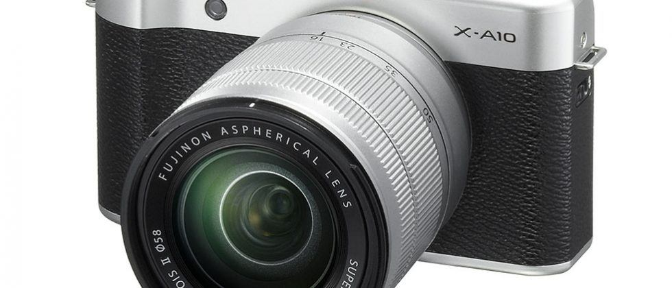 Fujifilm X-A10 mirrorless camera features 180-degree slide-tilt rear LCD and 16.3MP