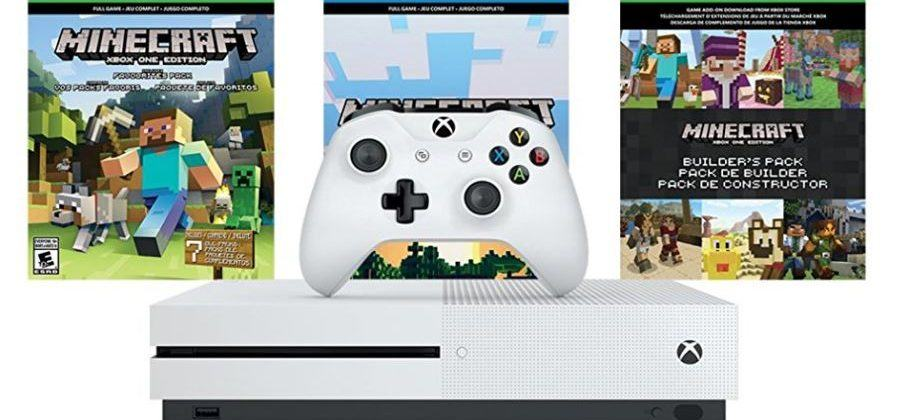 This Xbox One S Minecraft bundle deal is a one-day-only