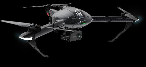 Yi Technology Erida drone is a tricopter with 4K 60fps video capability