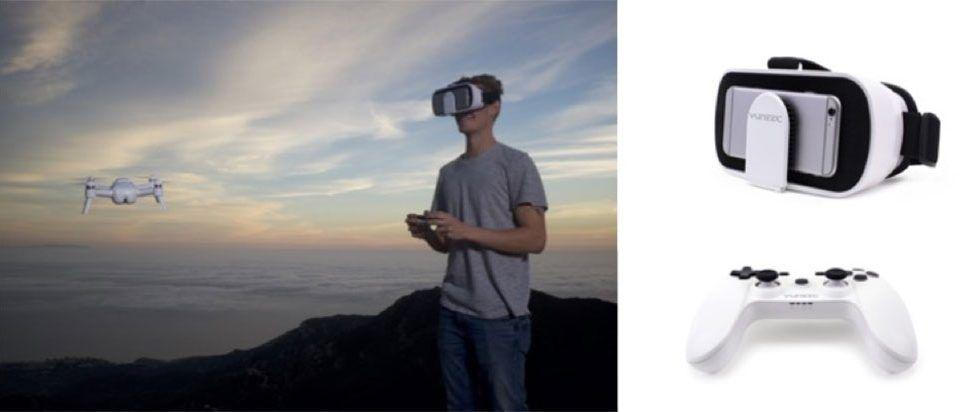 Yuneec Breeze First-Person View Controller lets you be onboard your drone