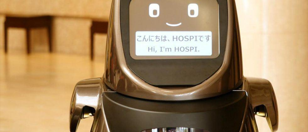Panasonic's HOSPI robot gets new jobs at hotel and airport