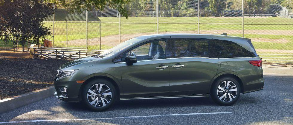 The 2018 Honda Odyssey is like CES on wheels