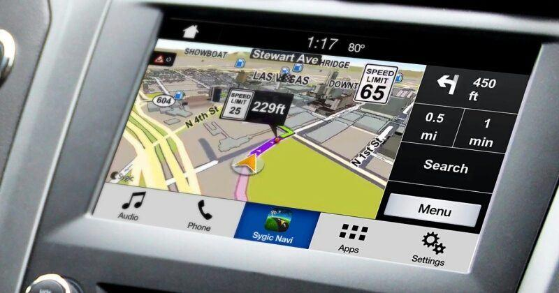 Ford SYNC 3 AppLink projects apps to dash touchscreen