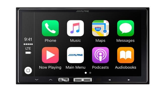 Alpine debuts 7-inch in-dash receiver with wireless CarPlay