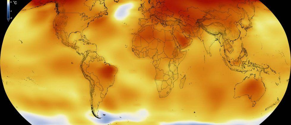 2016 was the warmest year on record… again