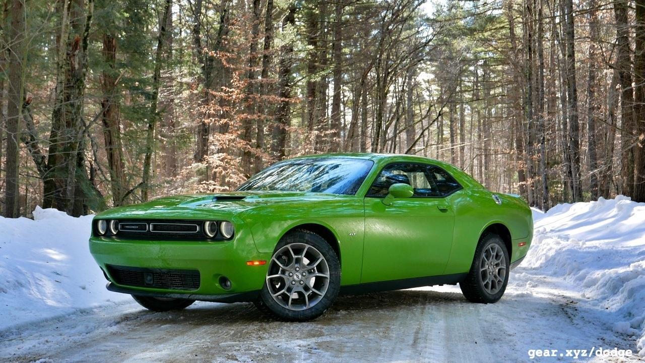 I Had The Chance To Slip Behind Wheel Of Dodge Challenger Gt In Snowbound Portland Maine Where A Recent Wintry Mix Dumped Ice Pellets Rain