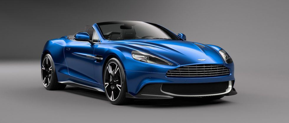 The 2018 Aston Martin Vanquish S Volante is drop-dead gorgeous