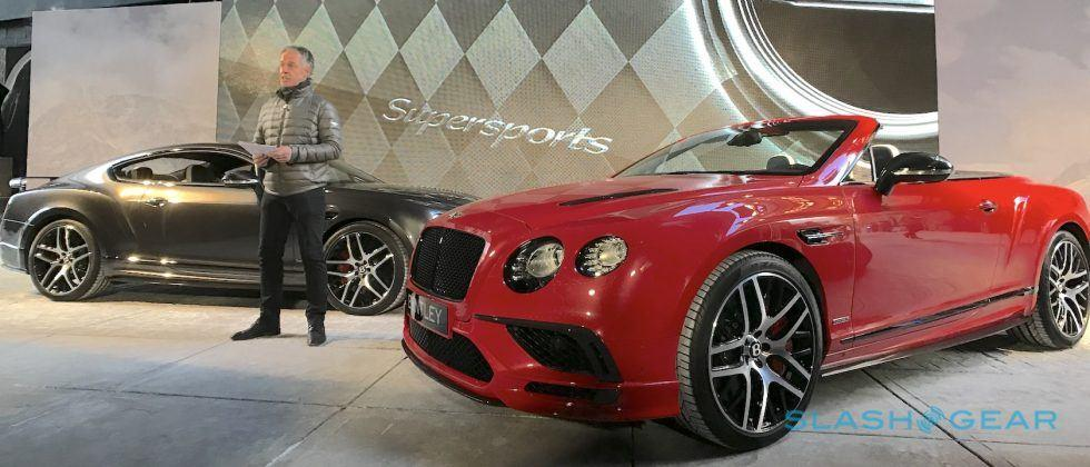Just unveiled, the Bentley Continental Supersports is a 209 mph beast