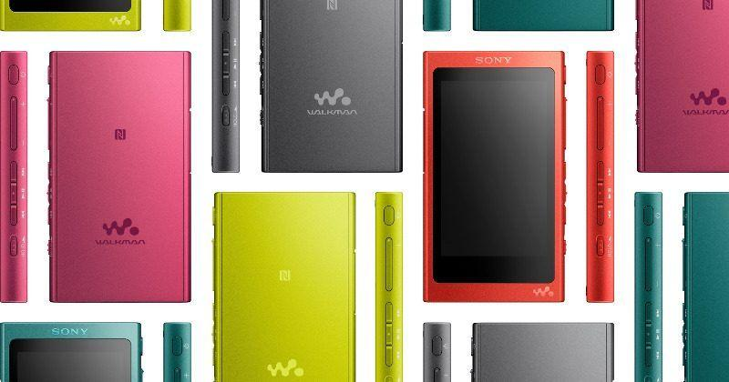 Sony Walkman NW-A35 looks like a thick, tiny Xperia XZ