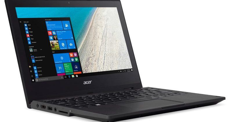 Acer's TravelMate Spin B1 notebook offers durability for students
