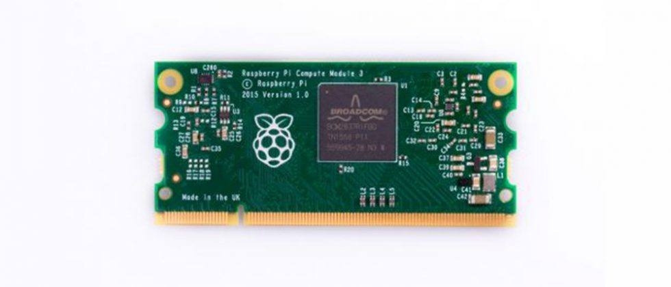Raspberry Pi Compute Module 3 unveiled with 10x CPU performance