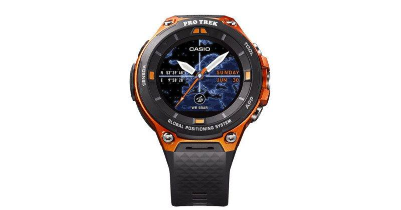 Casio Smart Outdoor Watch 2 comes with Android Wear 2.0, GPS