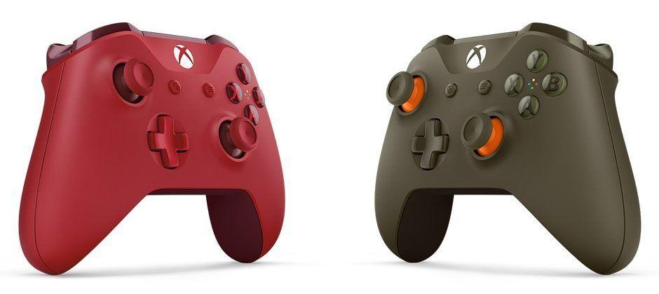 New Xbox One controllers released as store exclusives
