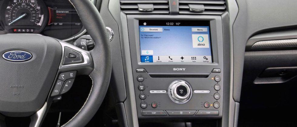 Ford brings Amazon Alexa to its Sync 3 vehicles