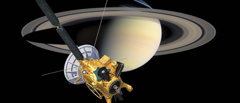 You have to see NASA's latest Cassini image from Saturn