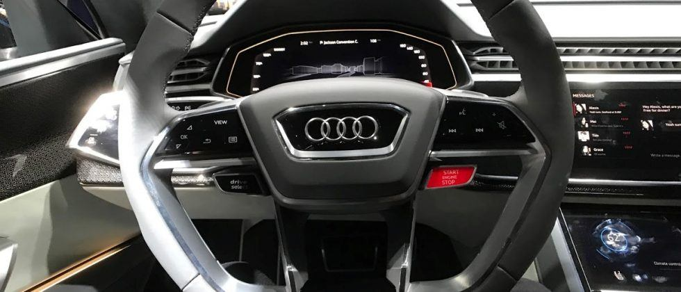 Audi Q8 Concept first look: Next-gen MMI dashboard hands-on
