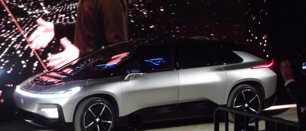 Here's the FF 91, Faraday Future's long-awaited electric vehicle