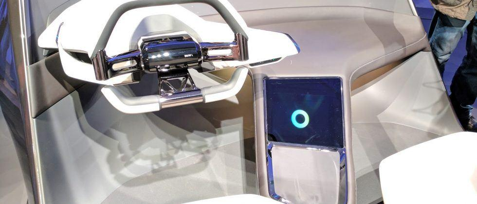 BMW i Inside Future concept makes the dashboard a tactile hologram
