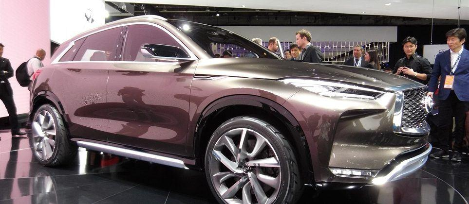 Infiniti QX50 Concept stuns with gorgeous sheet metal, new turbo in Detroit