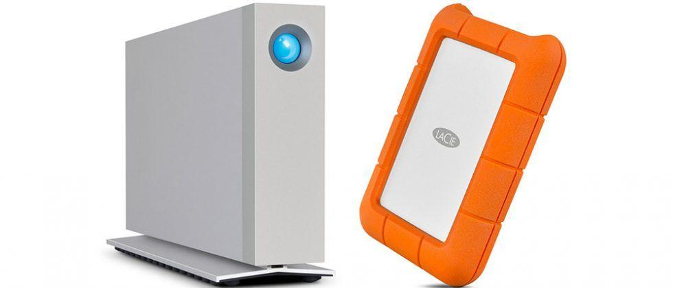 LaCie Rugged and d2 storage updated with Thunderbolt 3