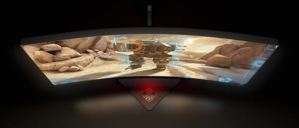 """HP's OMEN X 35 curved monitor invites you to """"never stop gaming"""""""
