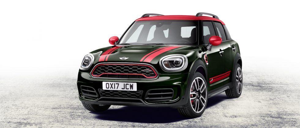 2018 MINI John Cooper Works Countryman is bigger in power and size