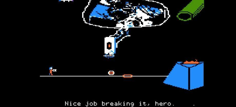 Now you can play Portal on an Apple II
