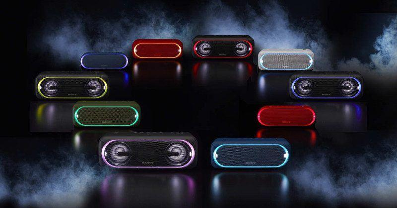Sony EXTRA BASS wireless speakers brings light to the party