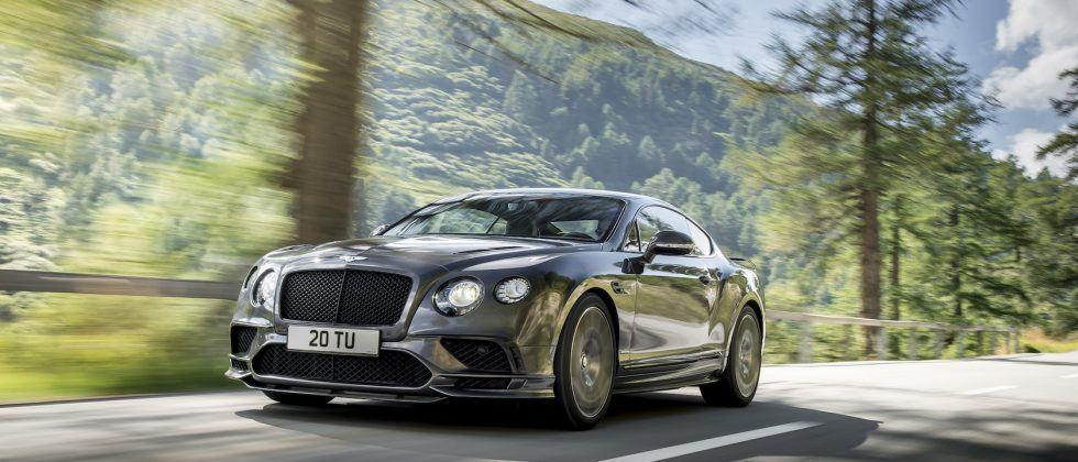 Meet the 209 mph Bentley Continental Supersports, its fastest car ever