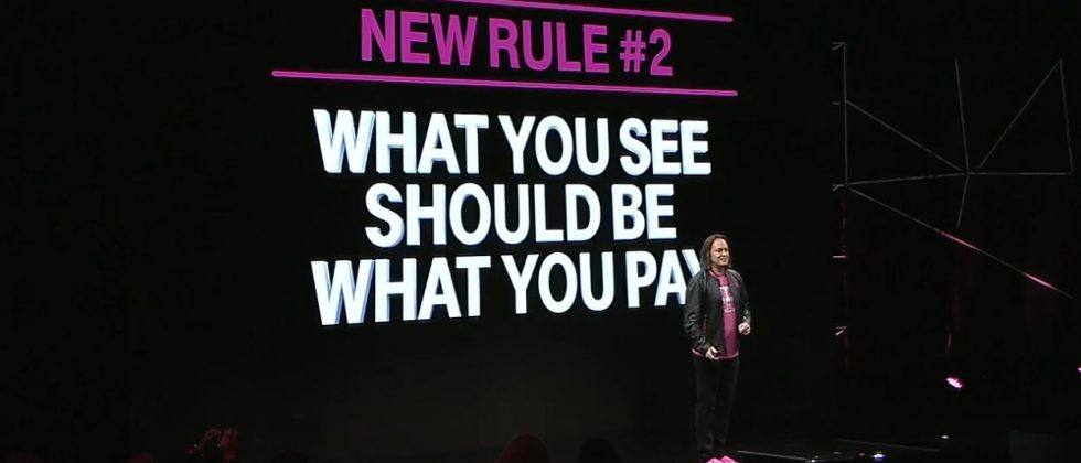T-Mobile's latest move simplifies your bill, credits you for