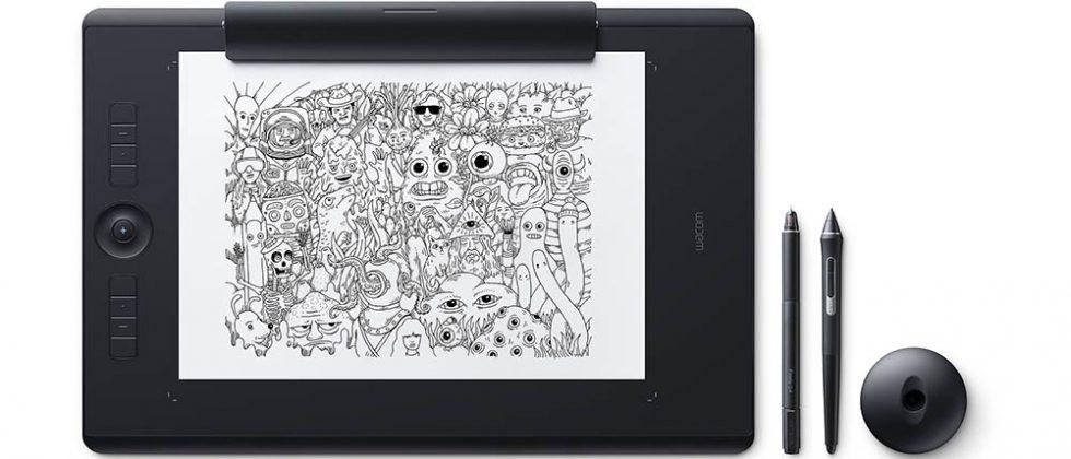 Wacom Intuos Pro, Intuos Pro Paper, and small Bamboo Folio unveiled