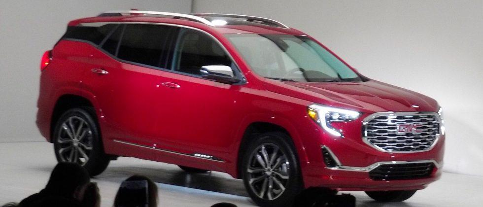 2018 GMC Terrain compact SUV moves to all-turbocharged line-up at Detroit auto show