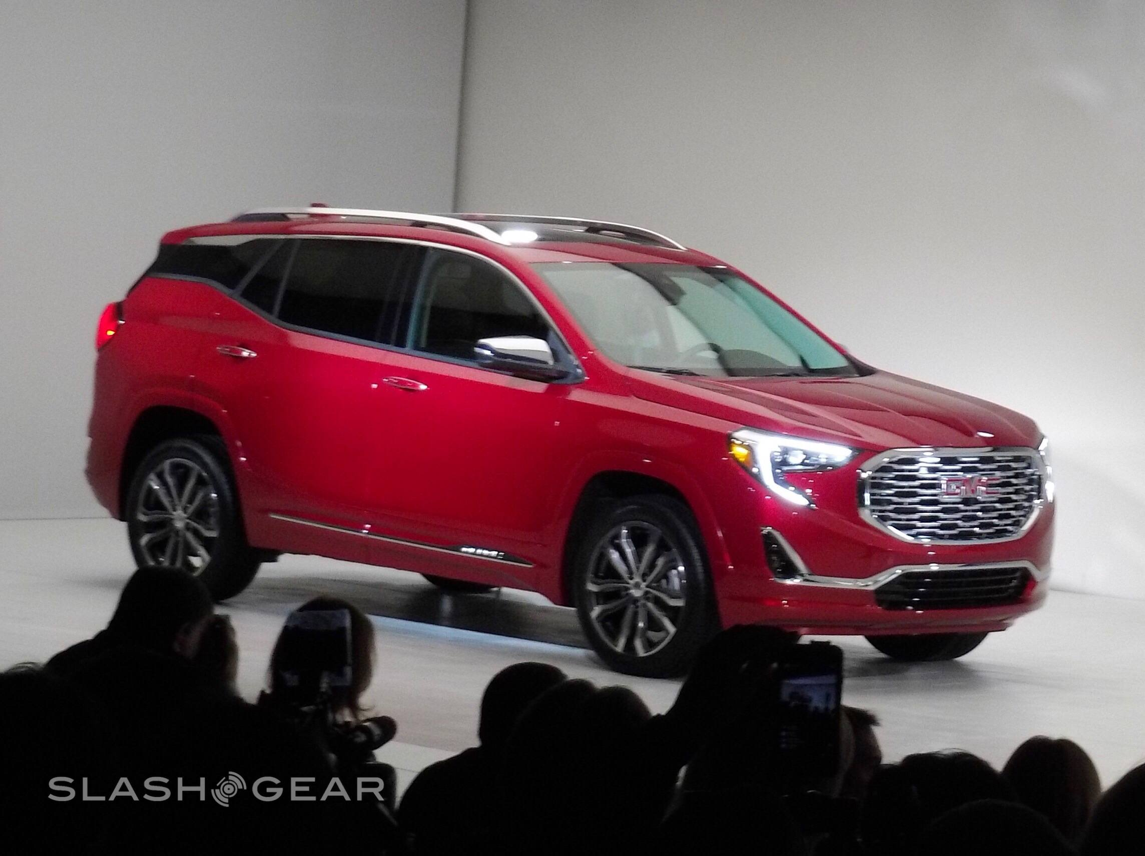 2018 Gmc Terrain Compact Suv Moves To All Turbocharged Line Up At Detroit Auto Show