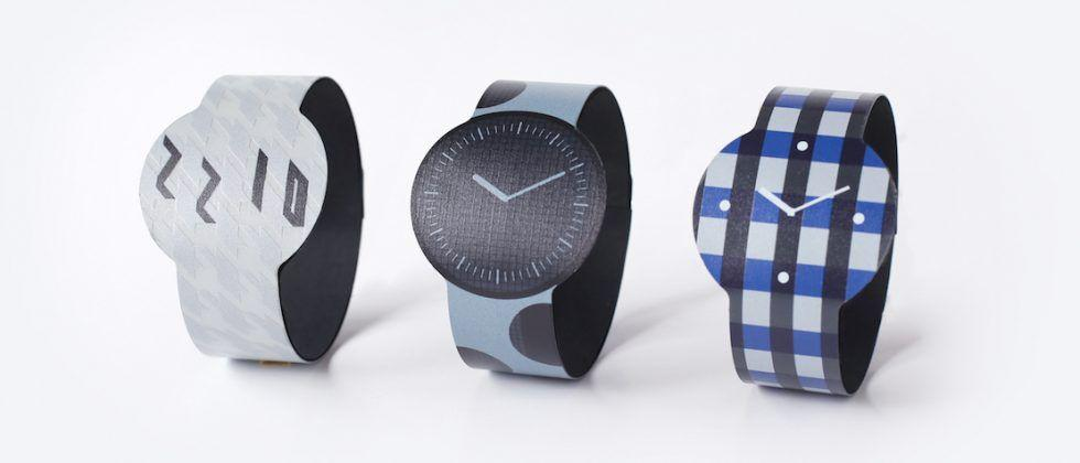 Sony E-ink FES watch gets colors & patterns for 2nd gen