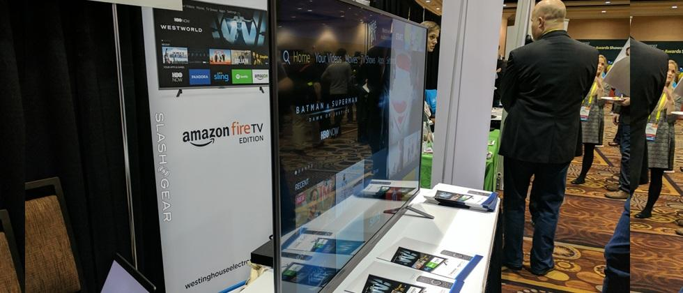 Amazon Fire TV Edition hands-on: Westinghouse 4K set gets Alexa