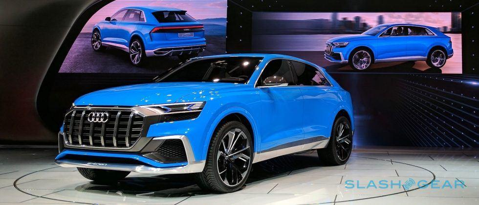 Audi Q8 Concept previews 4-seat luxury SUV with coupe style