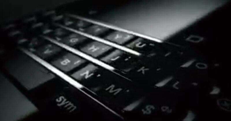 "BlackBerry ""PRESS"" by TCL to debut at CES 2017"