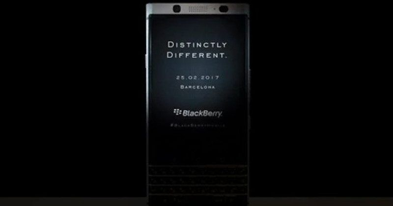 "BlackBerry ""Mercury"" to be unveiled at MWC 2017, for real"