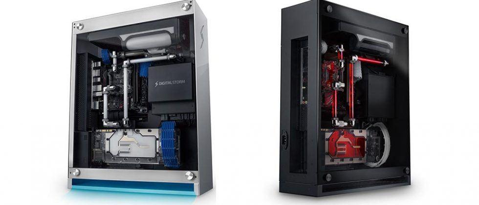 Digital Storm BOLT X SFF PC boasts HydroLux cooling system