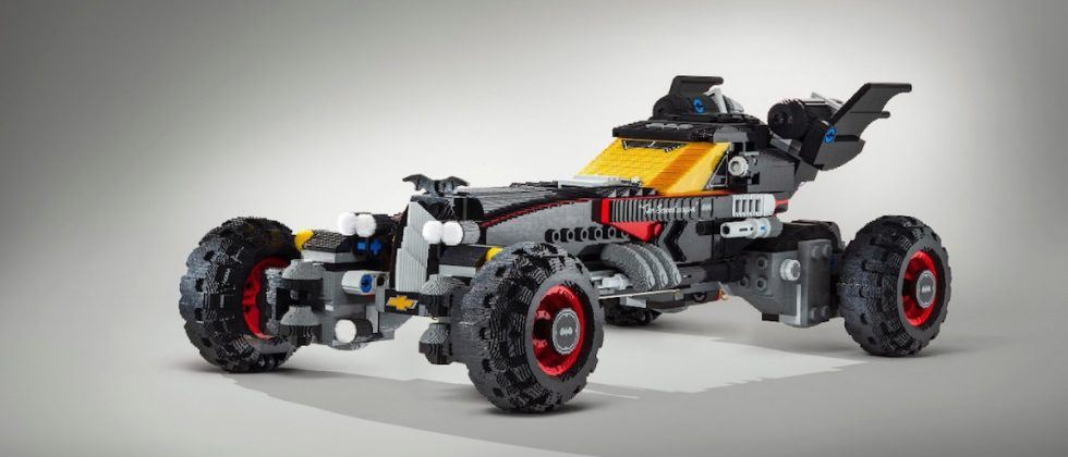 Lego Batman Movie's Batmobile made life-size with help from Chevy
