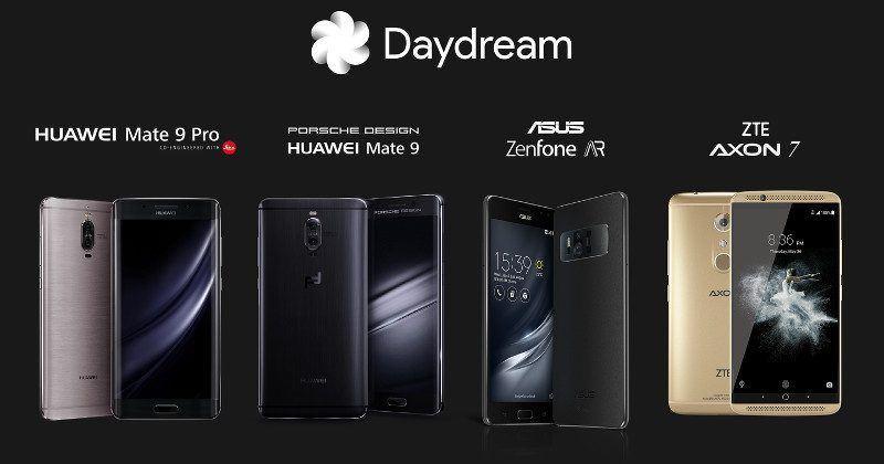 Google Daydream adds ASUS, ZTE, Huawei phones, new headset