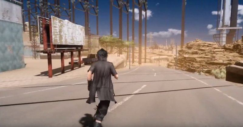 Final Fantasy XV bug let player into blocked off open world