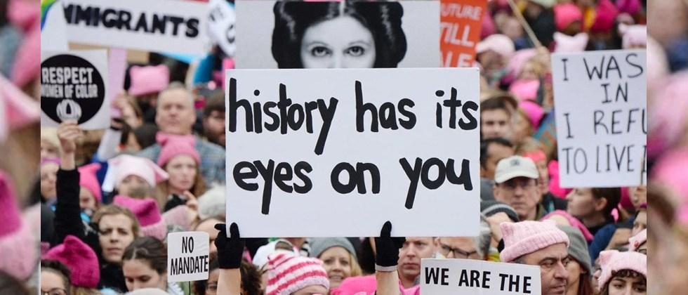 How Princess Leia led the Women's March protest against Trump