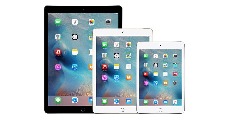 Apple's 3 new iPads not coming until second half of 2017
