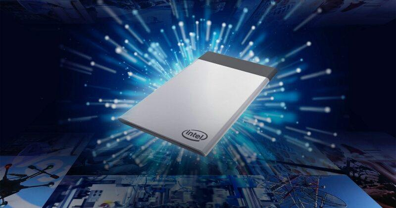 Intel Compute Card is just a little bigger than your credit card