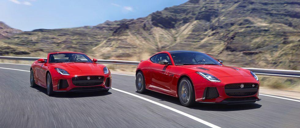 2018 Jaguar F-Type adds GoPro integration