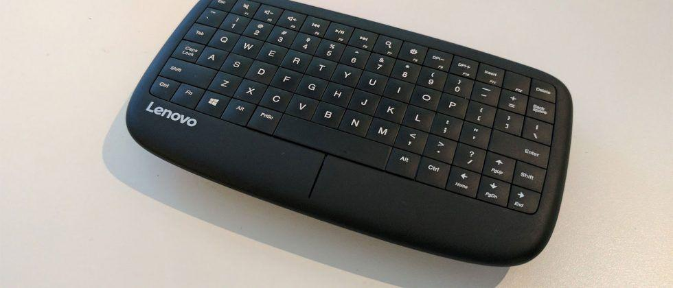 Lenovo 500 Multimedia Controller mini keyboard with touchpad arrives in March