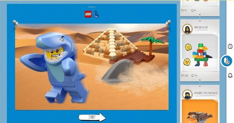 LEGO Life is a safe social network for young builders